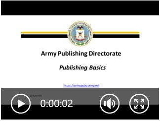APD Publishing Basics Video